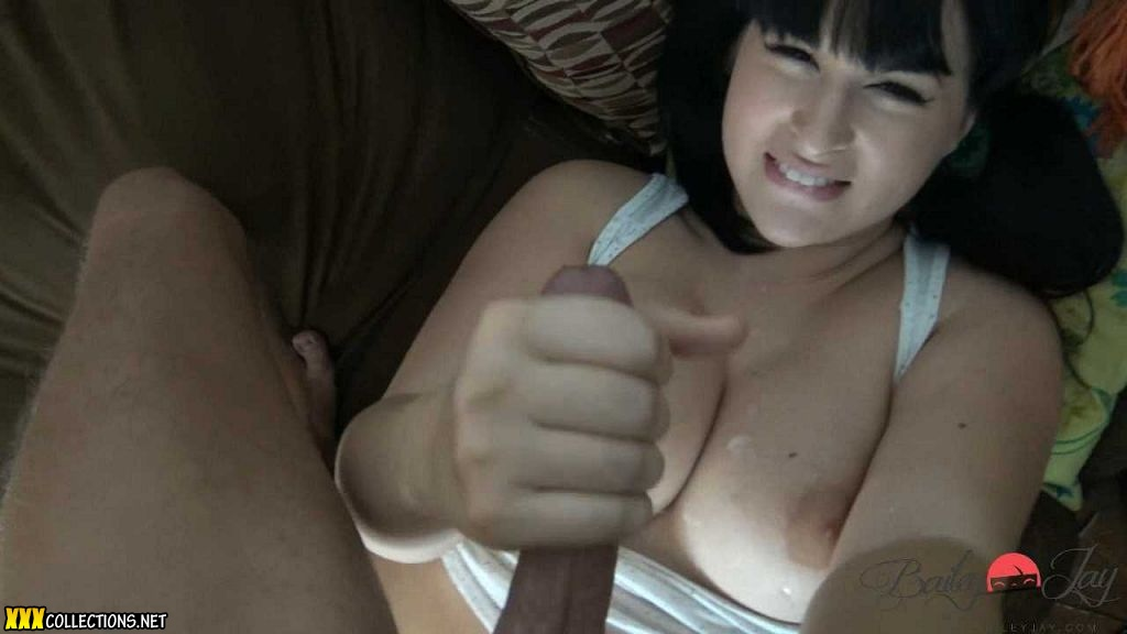 Bailey jay covered in cum
