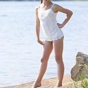 Silver Jewels Sarah White Dress Set 5 0684