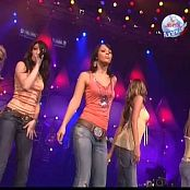 Girls Aloud Love Machine & Jump Live Jetix Planet Live 2005 Video