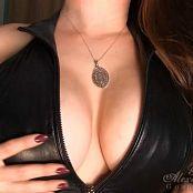 Goddess Alexandra Snow Leather Tit Worship HD Video
