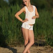 Silver Jewels Alice White Shorts Set 10 319