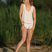 Silver Jewels Alice White Shorts Set 10 322