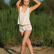Silver Jewels Alice White Shorts Set 10 426