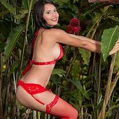 Poli Molina Red Stockings TM4B Set 002 009