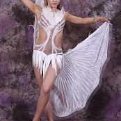 Silver Jewels Alice Dance Costume Set 2 0807