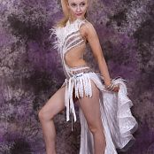 Silver Jewels Alice Dance Costume Set 2 0889