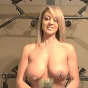 Nikki Sims Shake Weight Torture HD Video 131017 wmv