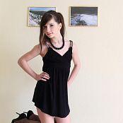 Silver Jewels Sarah Black Dress Set 4 1049