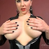 Goddess Alexandra Snow Rubber Catsuit Tease HD Video 170917 ts
