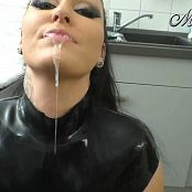 Mira Grey Latex Bitch Fucked In The Kitchen HD Video