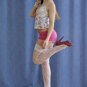 Silver Jewels Sarah White Stockings Set 4 2132