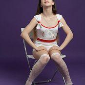 Silver Jewels Sarah White Stockings Set 6 2352