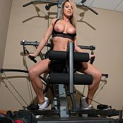 Nikki Sims Working Out 180