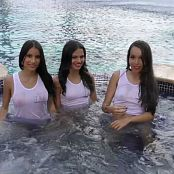 Alexa Lopera Britney Mazo and Mellany Mazo Wet T Time Group 9 TM4B HD Video 009 171017 mp4