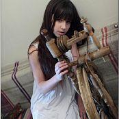 TeenModelingTV Sarah White Stockings 2588