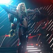 Britney Spears Opening Songs Super Sexy Transparent PVC Catsuit HD Video