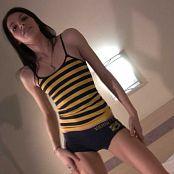 Fuckable Lola Cute Bumble Bee Shirt Tease HD Video
