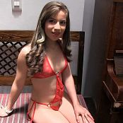 Angie Narango Red T-Back TM4B HD Video 009