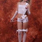 Silver Jewels Alice White Shorts Set 4 274