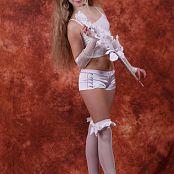 Silver Jewels Alice White Shorts Set 4 280