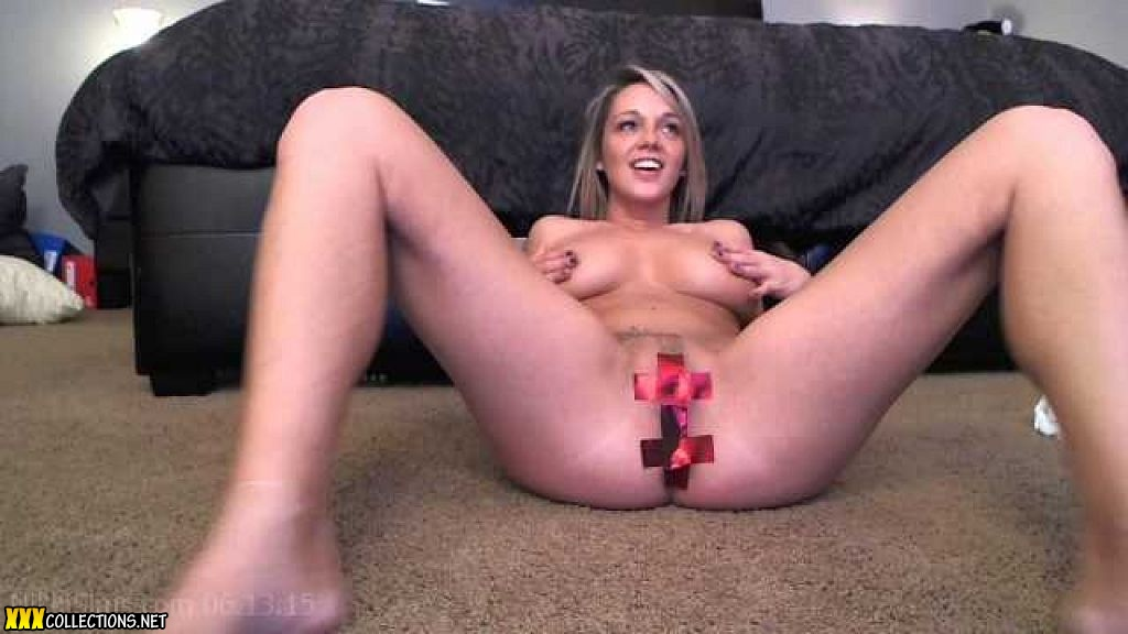 Taped pussy