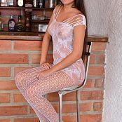 Silver Pearls Janie White Stockings Set 3 610
