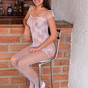 Silver Pearls Janie White Stockings Set 3 613