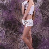 Silver Jewels Alice White Shorts Set 6 126