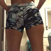 Kalee Carroll OnlyFans Trying To Squeeze Into My Gym Shorts HD Video