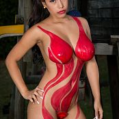 Luciana Model Body Paint TCG Set 010 012
