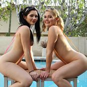 Teenikini Abby Cross & Karly Baker Poolside Sling Bikinis Picture Set & HD Video 037