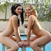 Teenikini Abby Cross & Karly Baker Poolside Sling Bikinis Picture Set & HD Video 037