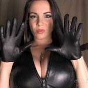 Goddess Alexandra Snow Leather Glove Test HD Video 231117 mp4