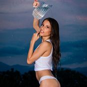Britney Mazo Wet Tank Top TCG Set 001 186