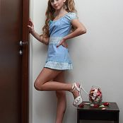 Silver Jewels Alice Blue Dress Set 3 625