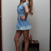 Silver Jewels Alice Blue Dress Set 3 628