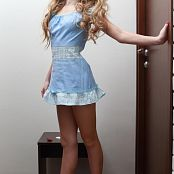 Silver Jewels Alice Blue Dress Set 3 715