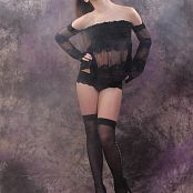 Silver Jewels Sarah Black Stockings Set 3 1513