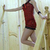 Silver Jewels Alice Red Dress Set 4 506