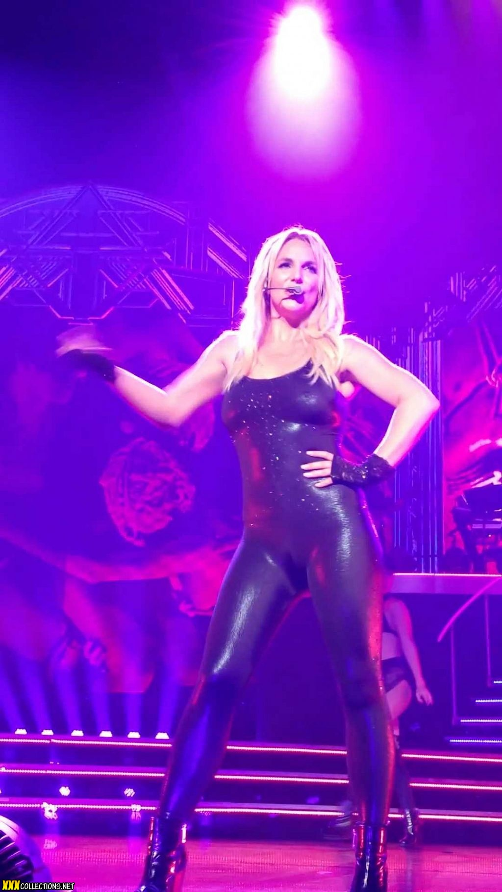 Are Britney spears latex porn