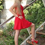 Silver Jewels Alice Red Dress Set 1 437