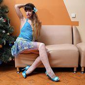 Silver Jewels Sarah Blue Dress Picture Set 3