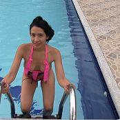 Yeraldin Gonzales Pink T Back Lingerie TCG HD Video 001 311217 mp4