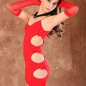 Silver Starlets Mari Red Dress Set 1 597