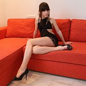 Silver Starlets Sarah Black Dress Picture Set 1