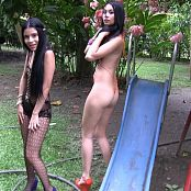 Emily Reyes and Ximena Gomez Playing Around Group 3 TM4B HD Video 003 070118 mp4