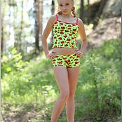TeenModelingTV Alice Neon Green 560