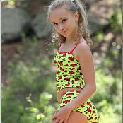 TeenModelingTV Alice Neon Green 608