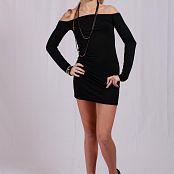 Silver Jewels Alice Black Dress Set 1 552