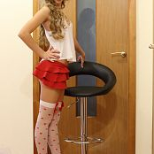 Silver Jewels Alice Red Skirt Set 1 0940